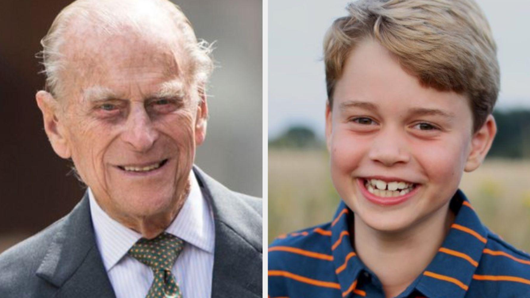 Prince George's Birthday Photo Pays Sweet Tribute To Duke Of Edinburgh