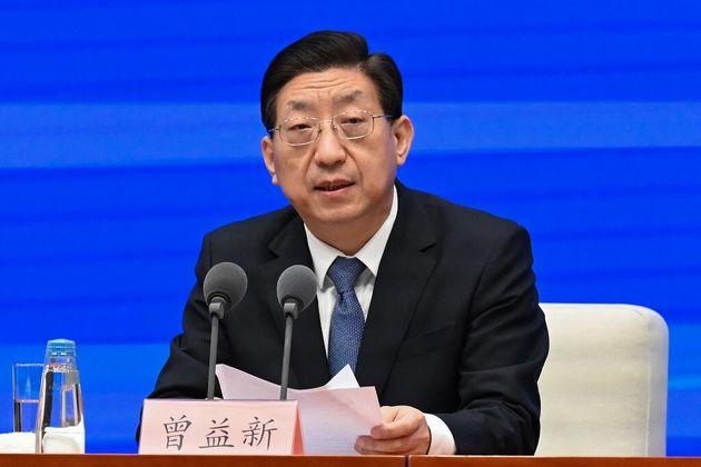 Zeng Yixin, le vice-ministre chinois de la Santé, en conférence de presse, le 31 décembre