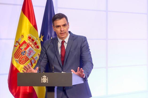El presidente del Gobierno de España, Pedro Sánchez, en una foto de