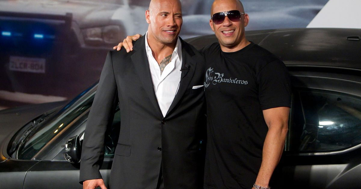 Dwayne Johnson 'Laughed Hard' Over Vin Diesel's 'Tough Love' Comments On Set Of Fast & Furious