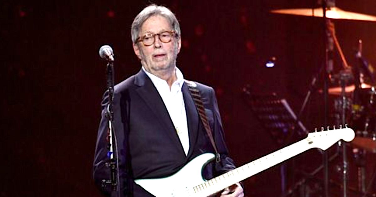 Eric Clapton Says He Won't Perform Where Vaccine Is Required, Gets Feedback