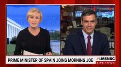Sánchez aclara en una televisión de EEUU una de las preguntas más repetidas de los últimos