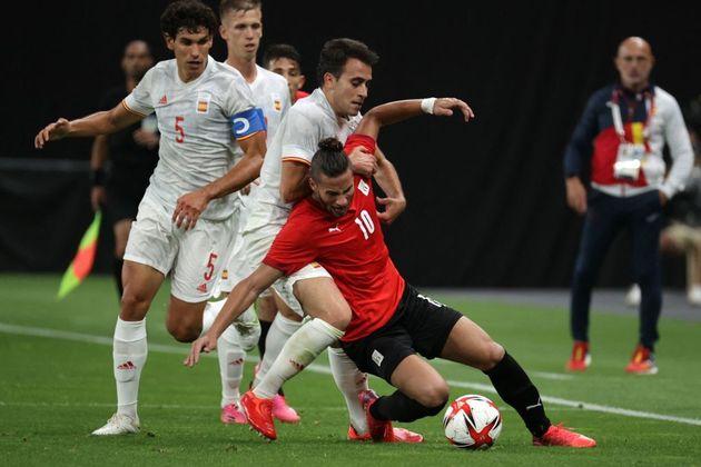 Partido España-Egipto de fútbol en los Juegos de