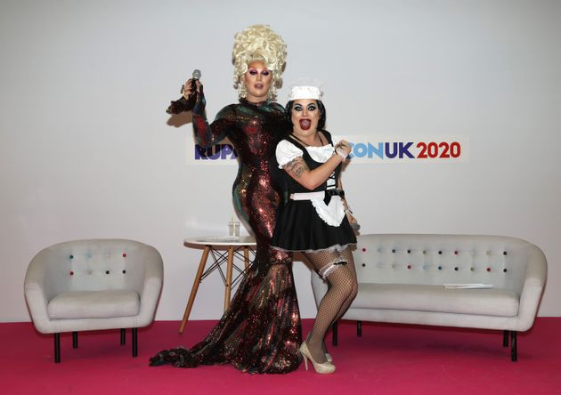Drag Race UK finalists The Vivienne and Baga