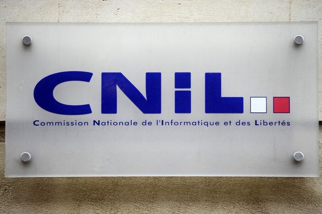 Un logo de la Cnil, le 29 janvier