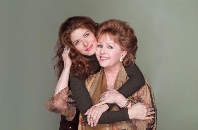 Debra Messing and Debbie