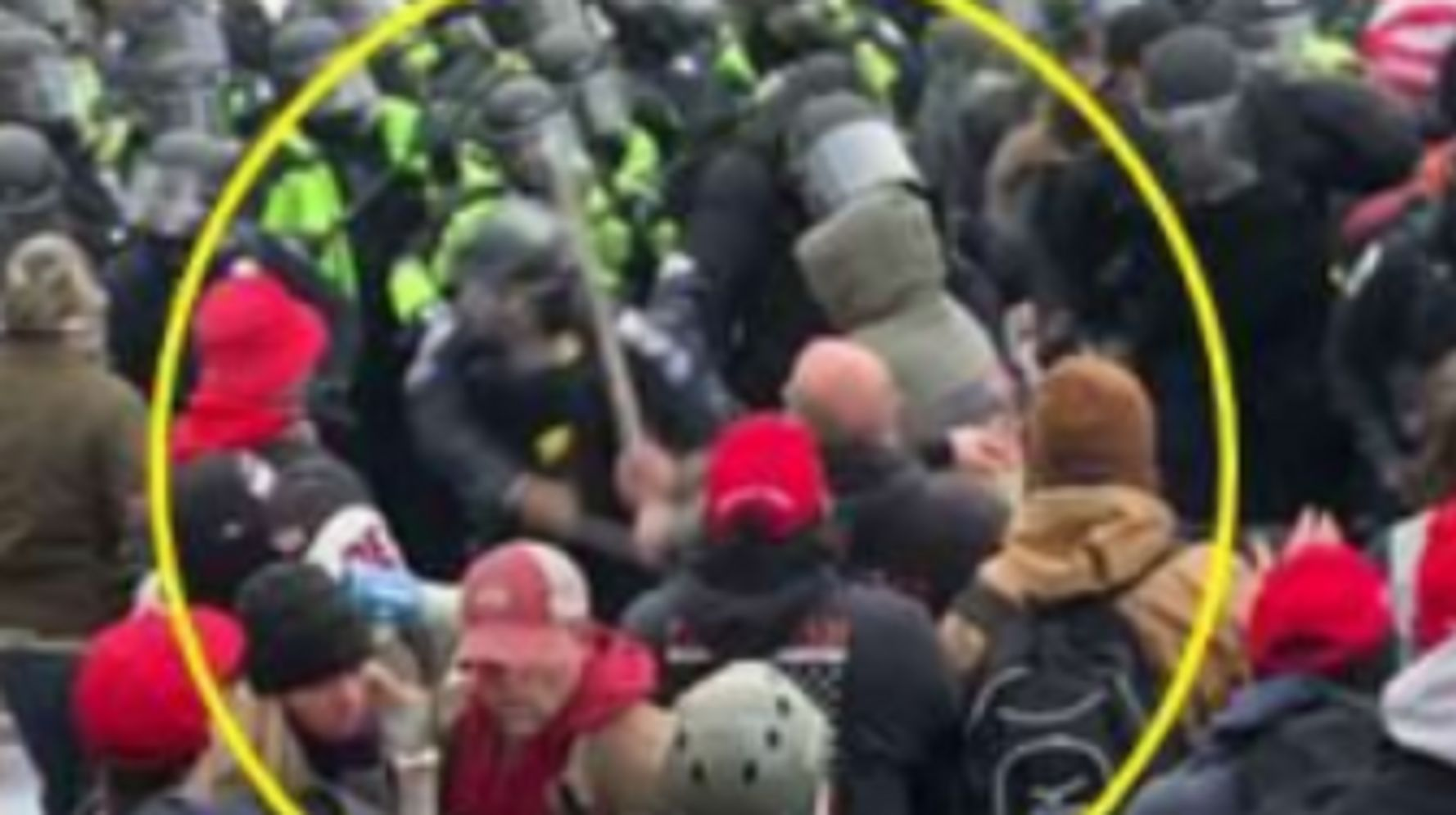 Latest Man Arrested In Capitol Riot Accused Of Attacking Police With Rod