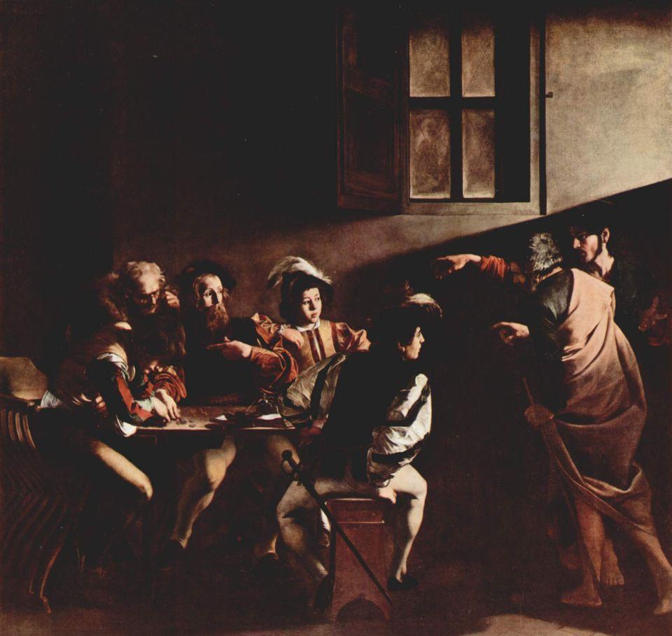 Καραβάτζιο - Η Κλήση του Αγίου