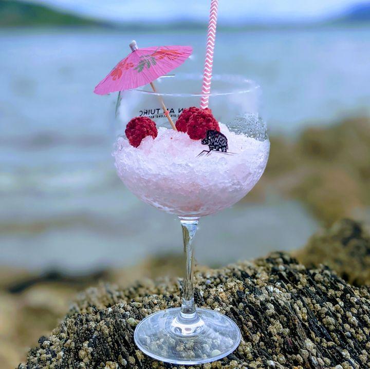 Pink Gin Slushie