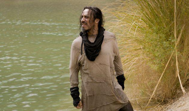 Alexandre Astier dans le rôle du roi Arthur dans le film