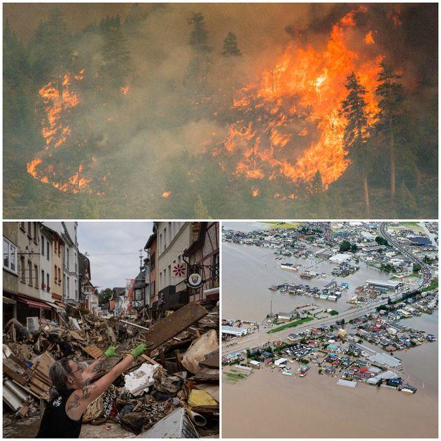 Φωτιές σε ΗΠΑ-Σιβηρία, πλημμύρες σε Κίνα, Ευρώπη - Ο εφιάλτης της κλιματικής αλλαγής είναι