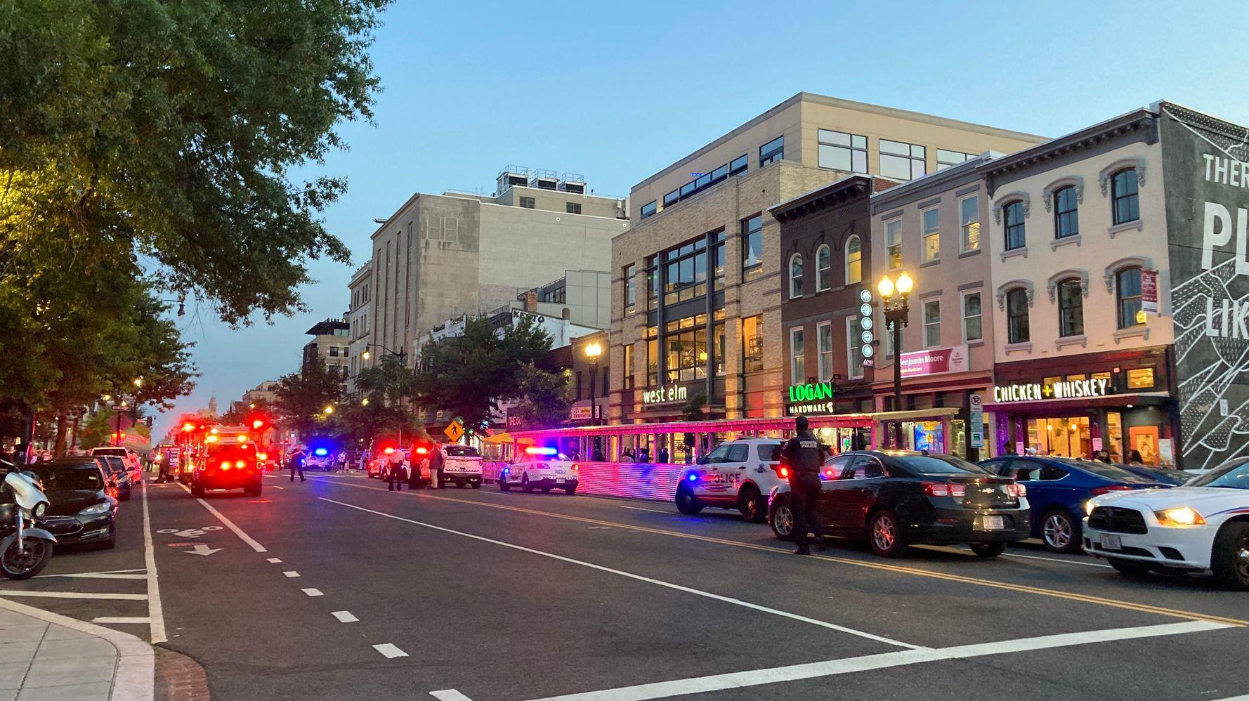 2 People Shot In Popular Washington Restaurant District