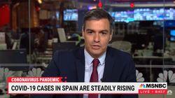 Entrevistan a Sánchez en EEUU y una espectadora deja EL comentario