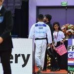Judoka algerino si ritira: