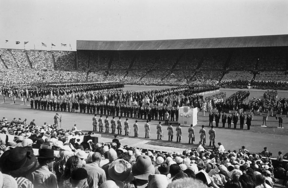 1948 Τελετή έναρξης των Ολυμπιακών...