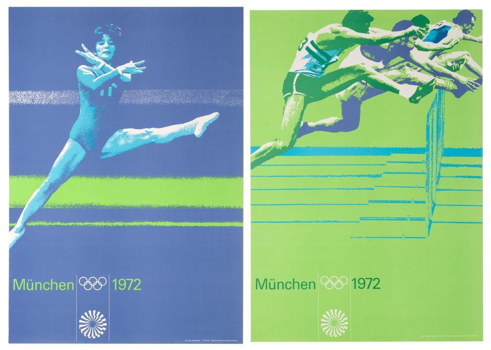 Αφίσες για τους Ολυμπιακούς...