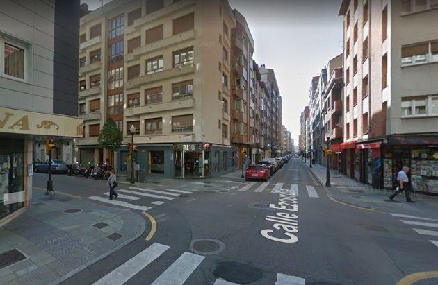 La calle Ezcurdia, donde ocurrieron los