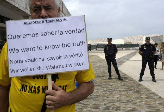 Los familiares de las víctimas no pudieron acceder a la entrega de las medallas Castelao en la...