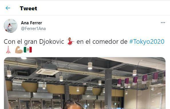 El tuit de Ana Ferrer que ha provocado el