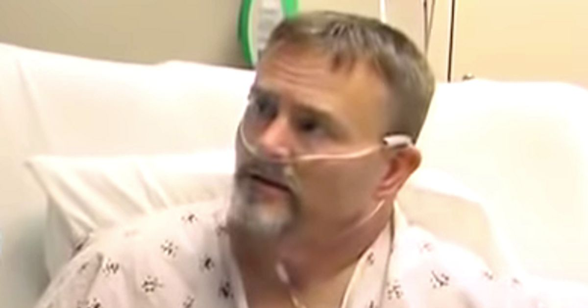 Unvaccinated Man Hospitalized With COVID-19 Still Refuses To Get The Vaccine