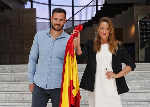 Saúl Craviotto y Mireia Belmonte, abanderados