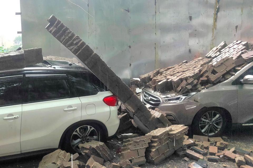 Κίνα: Συνεχίζονται οι καταστροφικές πλημμύρες στα κεντρικά - Πάνω από 50 οι