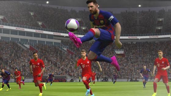 Imagen de Messi en 'Pro Evolution Soccer