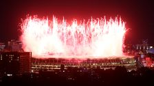 The Most Stunning Photos From The Tokyo Olympics Opening Ceremony