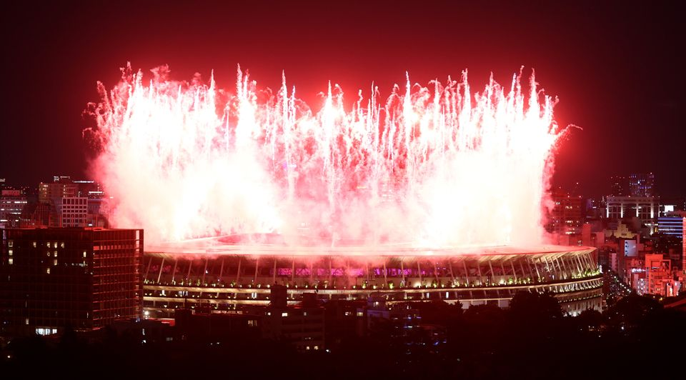 The Most Stunning Photos From The Tokyo Olympics Opening