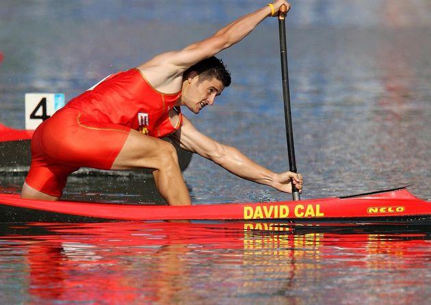 David Cal, en los Juegos Olímpicos de