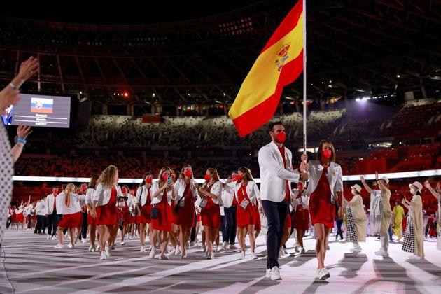 España en la inauguración de los