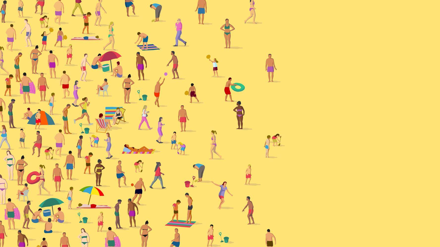 Comme la rue, la plage n'échappe pas au harcèlement