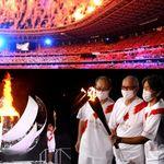 写真で振り返る、東京オリンピックの開会式【画像集】