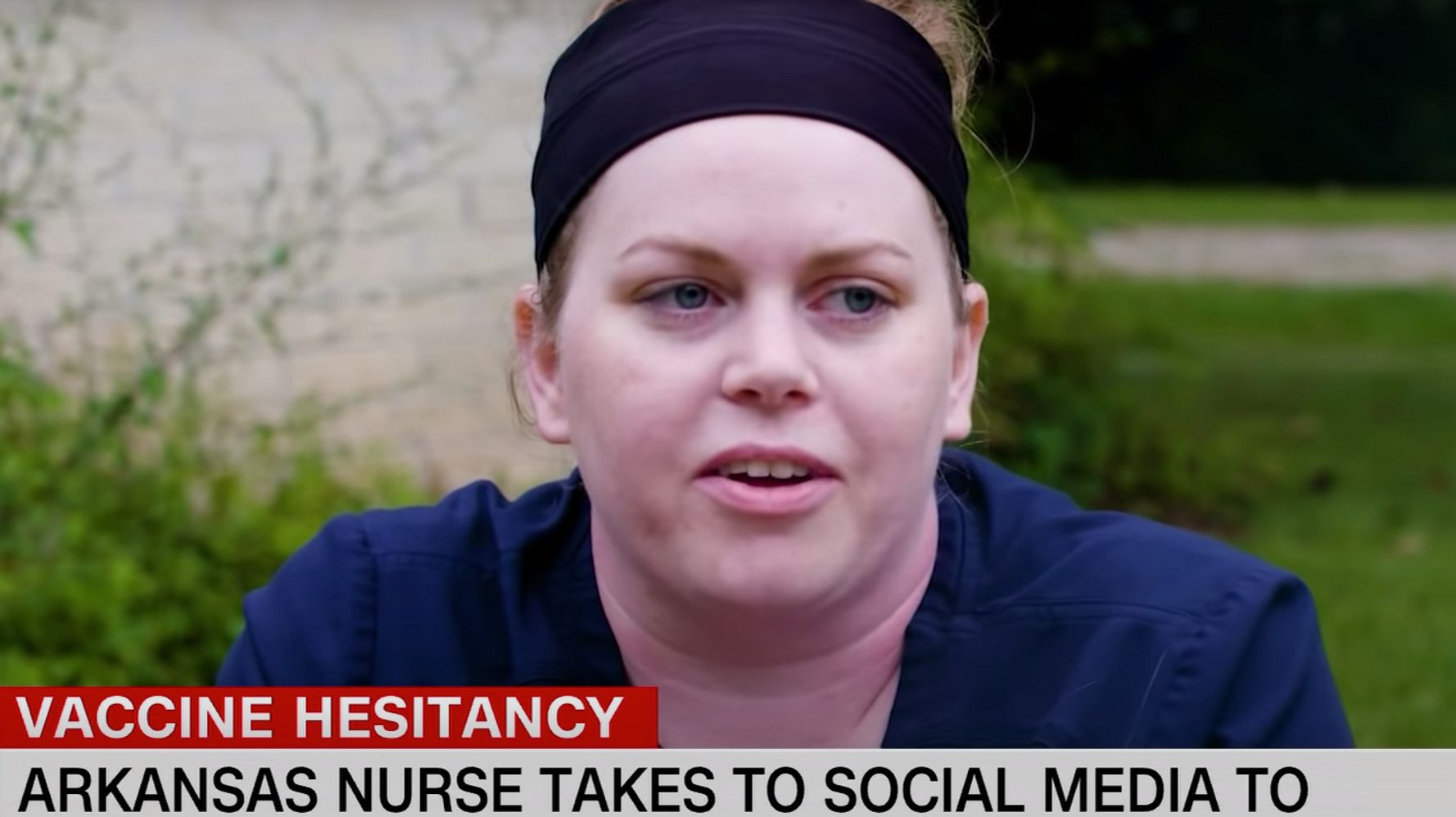 Nurse Reveals Her Prank On COVID-19 Deniers Who Say She's A Crisis Actor