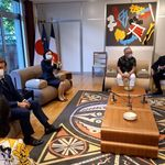 Cette rencontre de Macron au Japon n'est pas passée inaperçue chez lez fans de