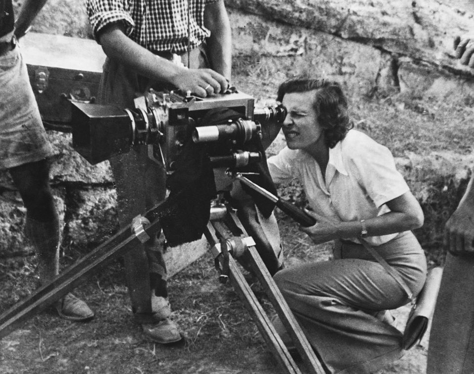 Leni Riefenstahl is a photographer and cinematographer best known for two films extolling the Third Reich:...