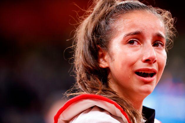 Adriana Cerezo, tras perder la final olímpica de