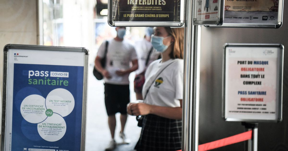 Pass sanitaire: Le cinéma appelle à l'aide face à