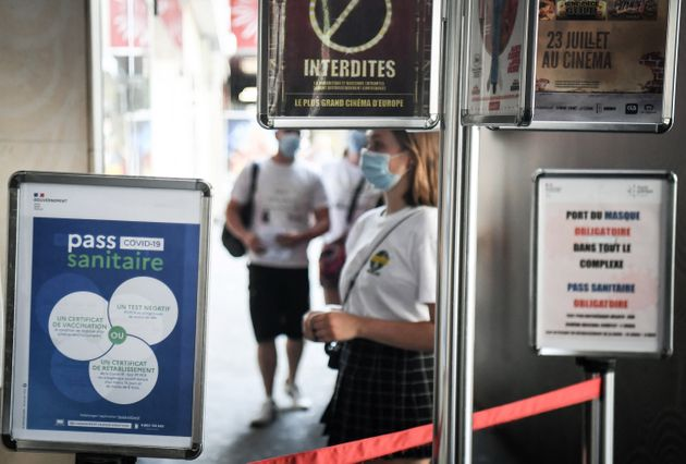 Avec l'entrée en vigueur du pass sanitaire, les cinémas constatent une brutale chute de leur fréquentation...