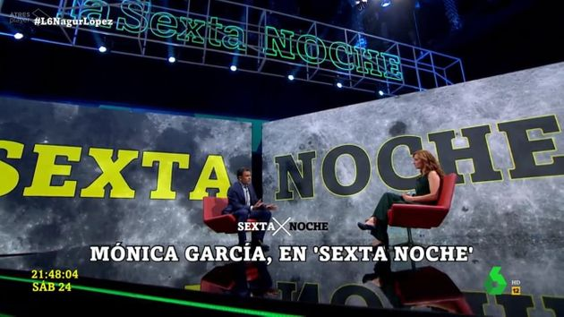 Iñaki López entrevista a Mónica García en 'LaSexta