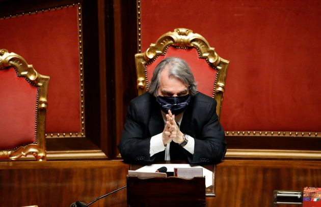 Minister of Public Administration Renato Brunetta during the communications of the Prime Minister to...