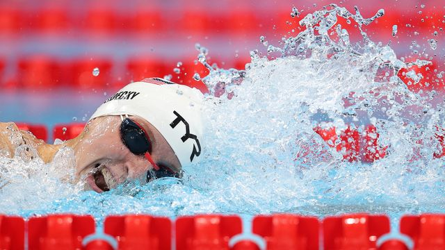 Katie Ledecky Hits The Pool For First Olympic Race And It's Business As Usual.jpg