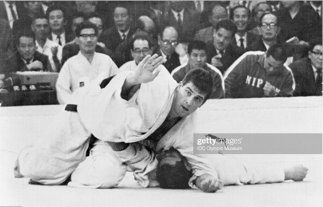 Anton Geesink contro Akio Kaminaga, Olimpiadi di Tokyo 1964