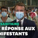 """""""La liberté où je ne dois rien à personne n'existe pas"""", lance Macron après les"""