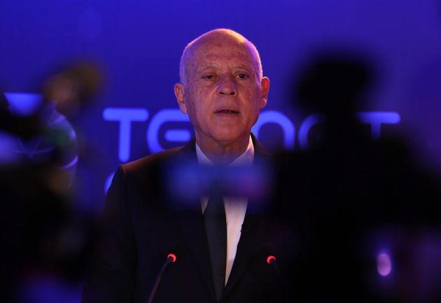El presidente de Túnez, Kais