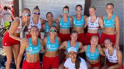 ビキニ拒否の女性選手への罰金、ピンクが肩代わりを宣言「性差別にこそ罰金を」
