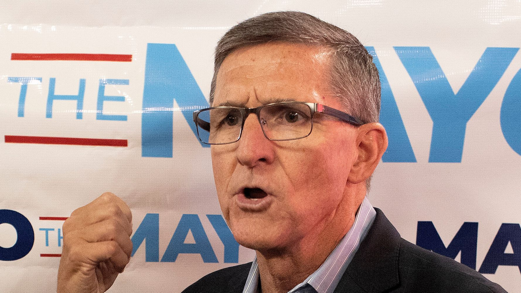Michael Flynn Boasts Maybe He'll 'Find Somebody In Washington' With His New AR-15