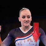Parece un error, pero no lo es: el llamativo detalle en el uniforme de las gimnastas