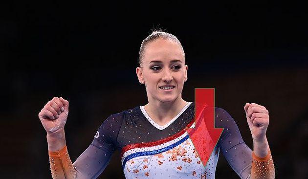 La gimnasta holandesa Lieke