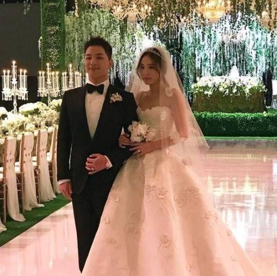 가방 디자이너인 수란 리가 올린 민효린-태양 부부의 결혼식